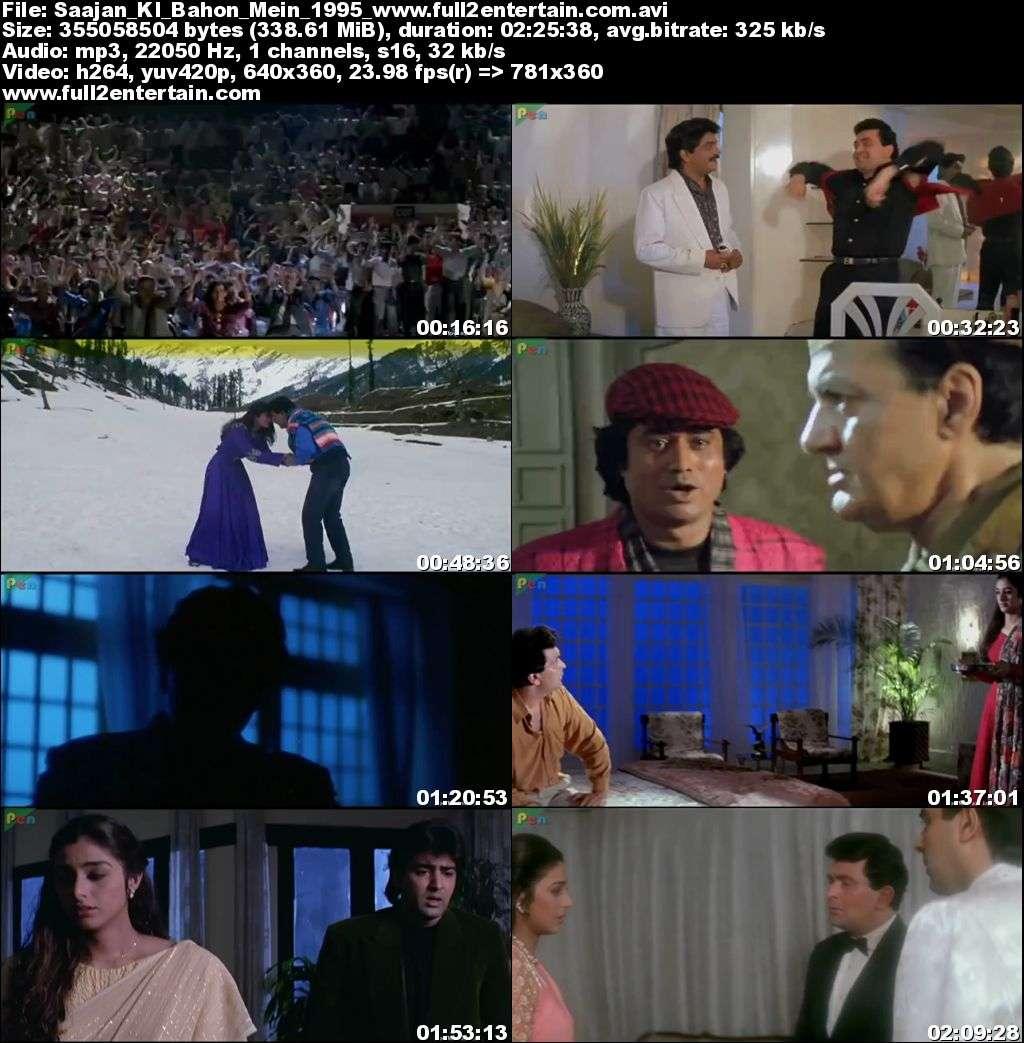 Saajan Ki Baahon Mein 1995 Full Movie Download Free in Bluray 720p