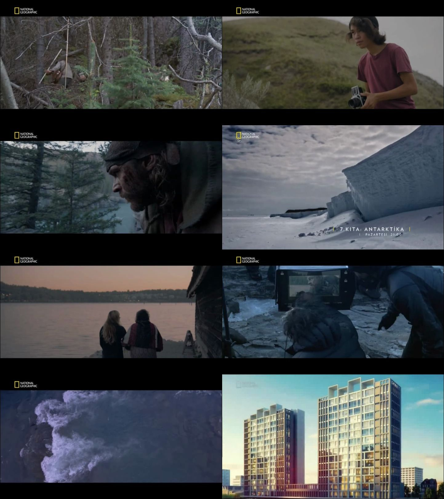 National Geographic - Keşfedilmemiş Dünya (2016) türkçe dublaj belgesel serisi indir