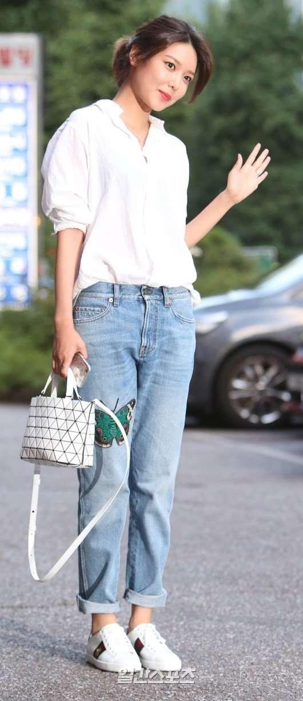 예쁘다는 16ss 구찌제품 입은 소녀시대