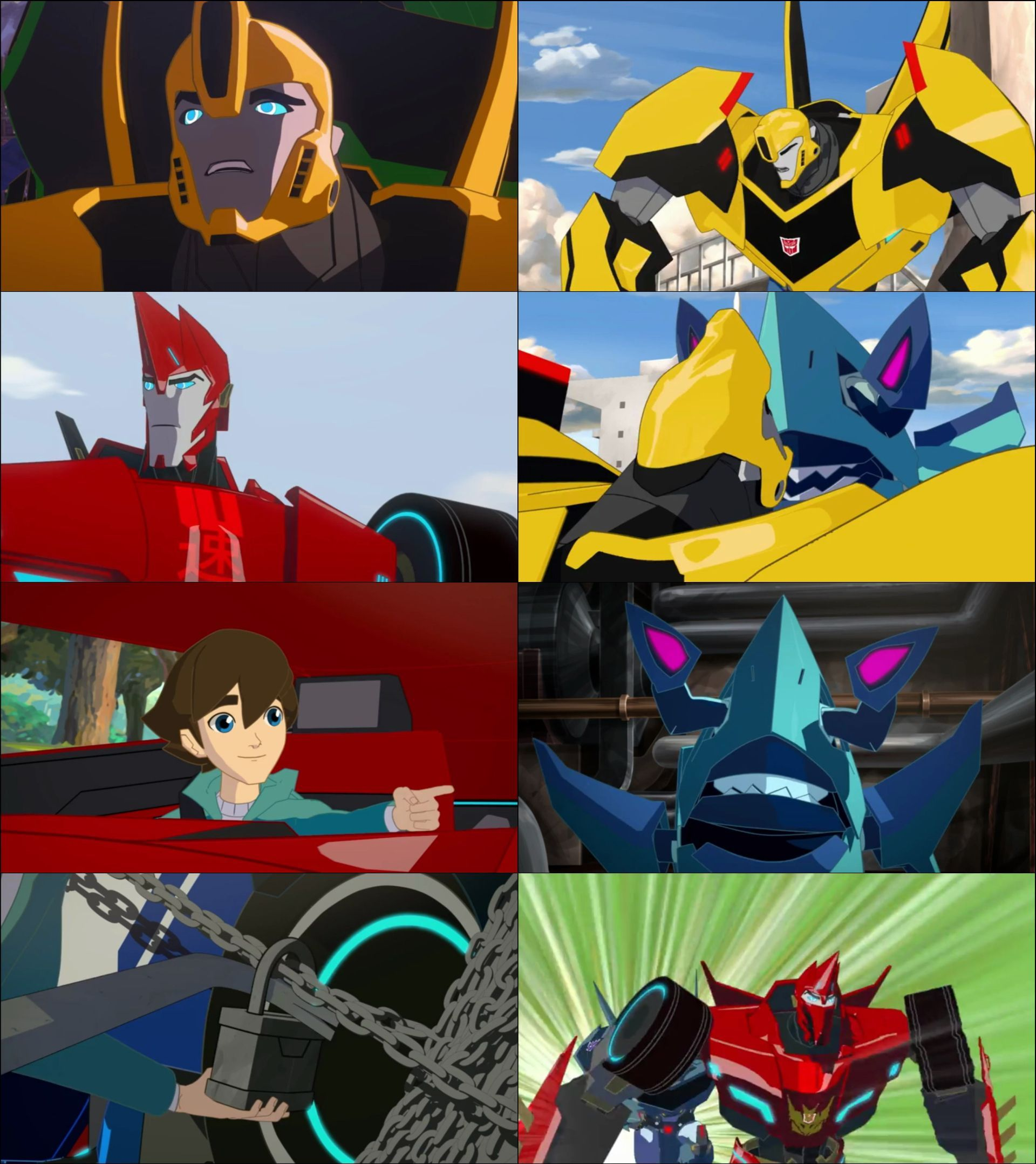Transformers: Robots in Disguise (2015) Yabancı Dizi 1. Sezon Tüm Bölümler türkçe dublaj indir