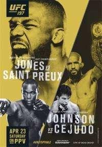 Смешанные единоборства - UFC 197: Джонс - Овинс Сент-Преукс / UFC 197: Jones vs. Saint Preux | HDTV 1080i