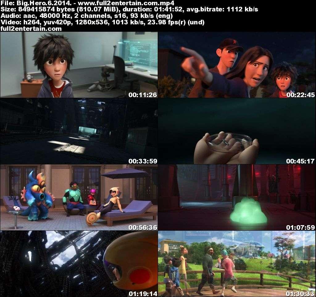 Big Hero 6 2014 Full Movie Free Download HD 1.8Gb
