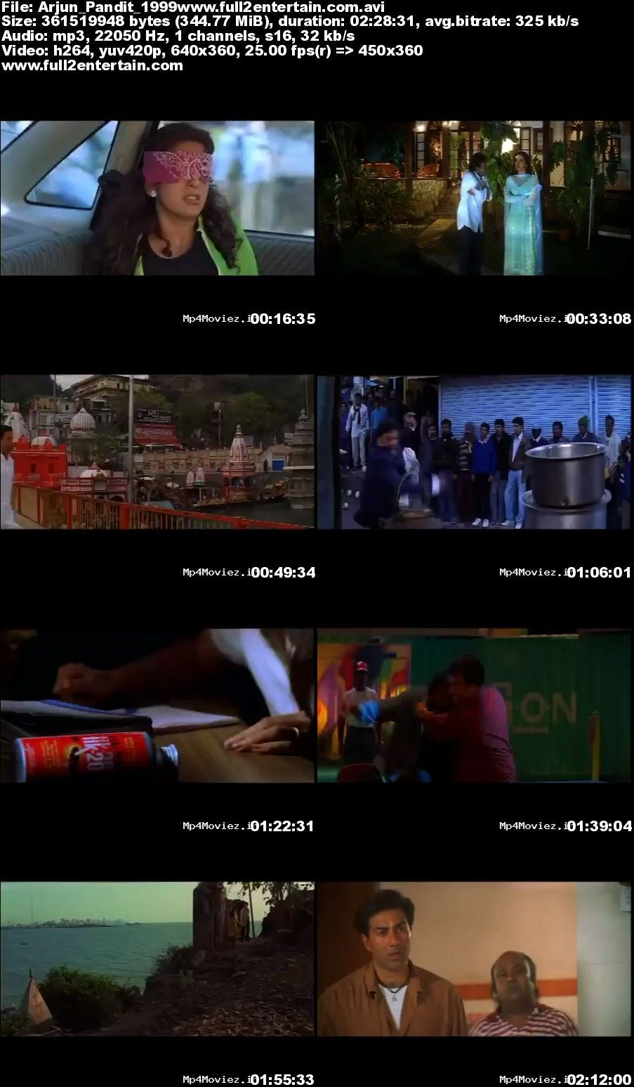 Arjun Pandit 1999 Full Movie Download Free in Dvdrip 480p