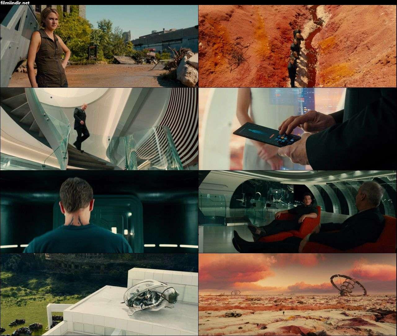 Uyumsuz Serisi: Yandaş - The Divergent Series: Allegiant (2016) türkçe dublaj film indir