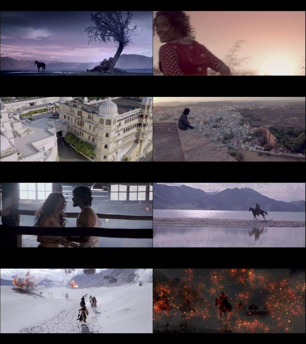 Screen Shot of Movie Mirzya Full Movie Download 720p Bluray