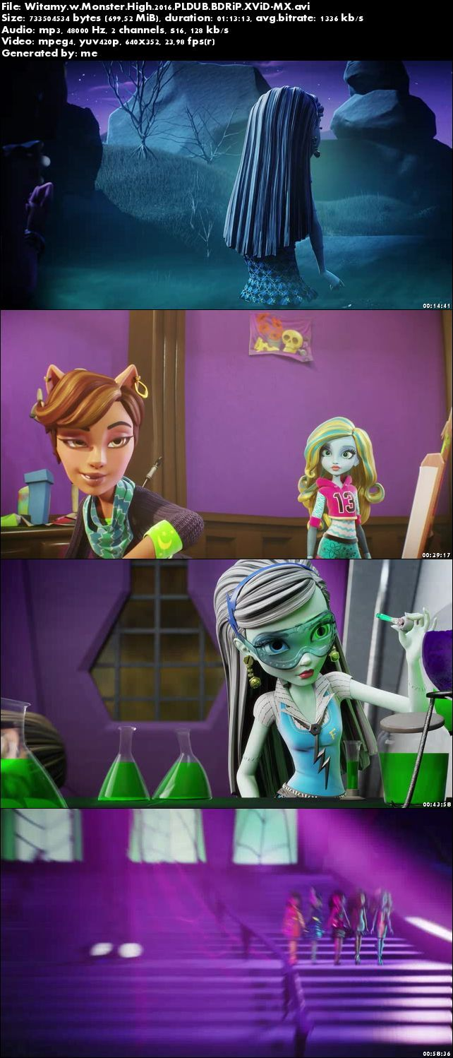 Witamy w Monster High / Monster High: Welcome to Monster High (2016)