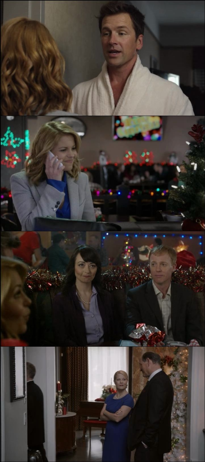 Unutulmaz Bir Noel - A Christmas Detour (2015) türkçe dublaj film indir