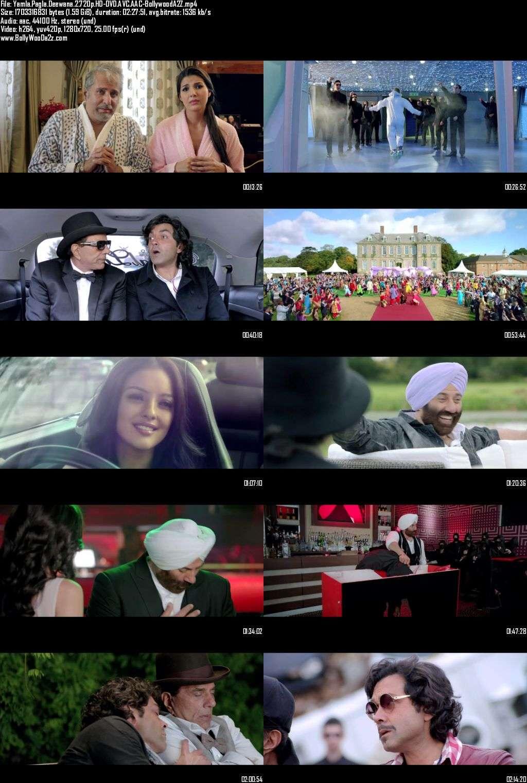 Yamla Pagla Deewana 2 (2013) 720p - HD-DVDRip - AVC - AAC-Bollywooda2z