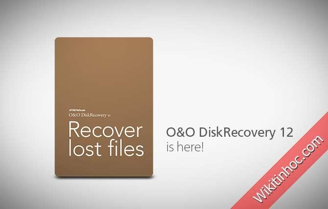 O&O DiskRecovery Professional -  Khôi phục lại các tập tin đã xóa