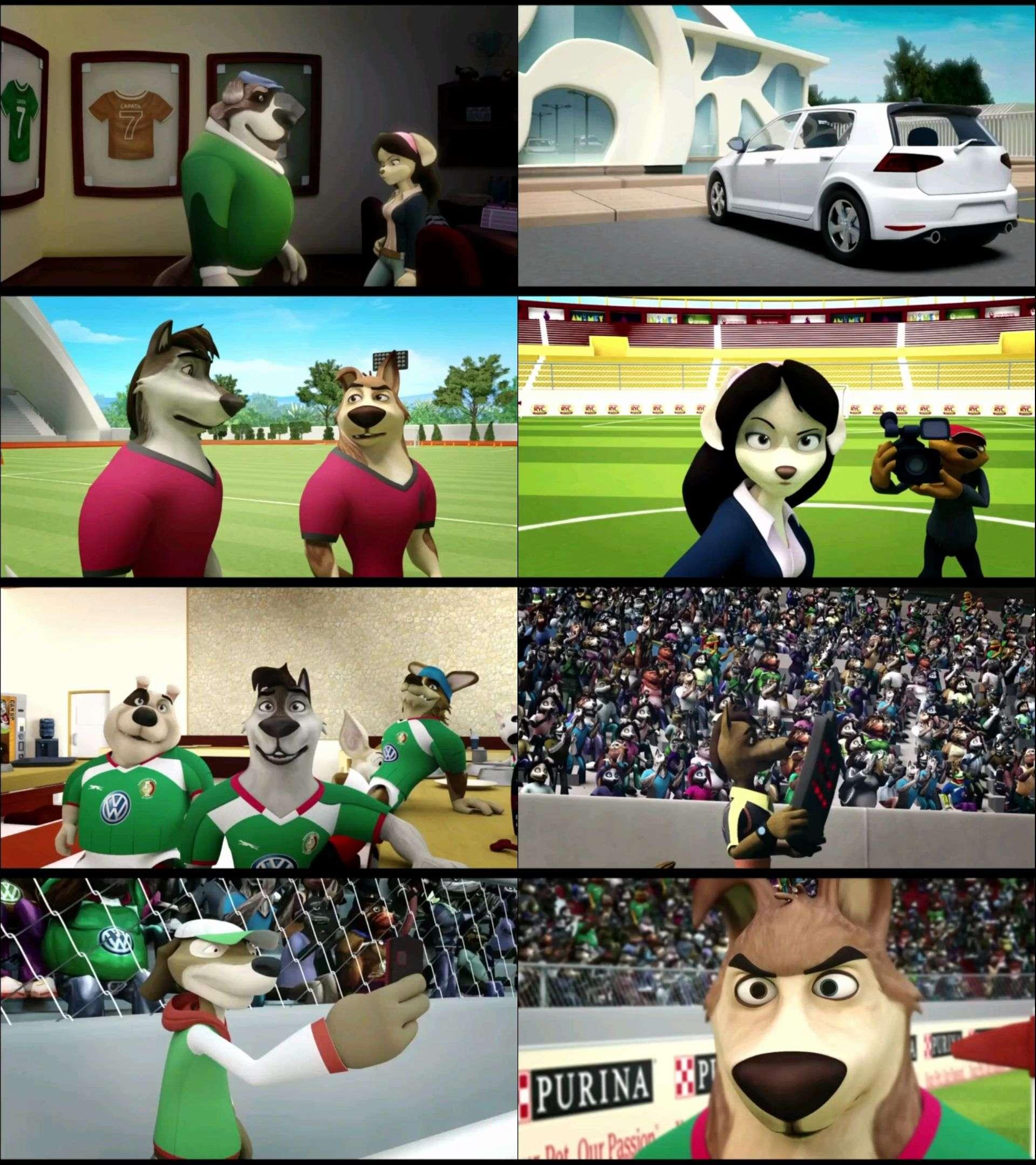 K9 World Cup - K9 Dünya Kupası 2015 türkçe dublaj animasyon film indir