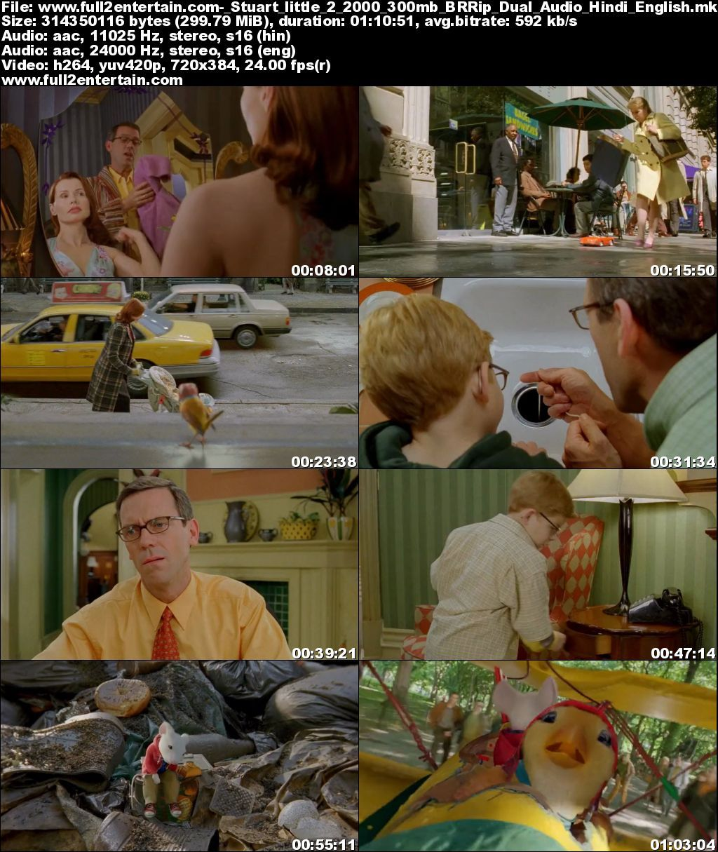 Stuart Little 2 Full Movie Free Download HD 300mb