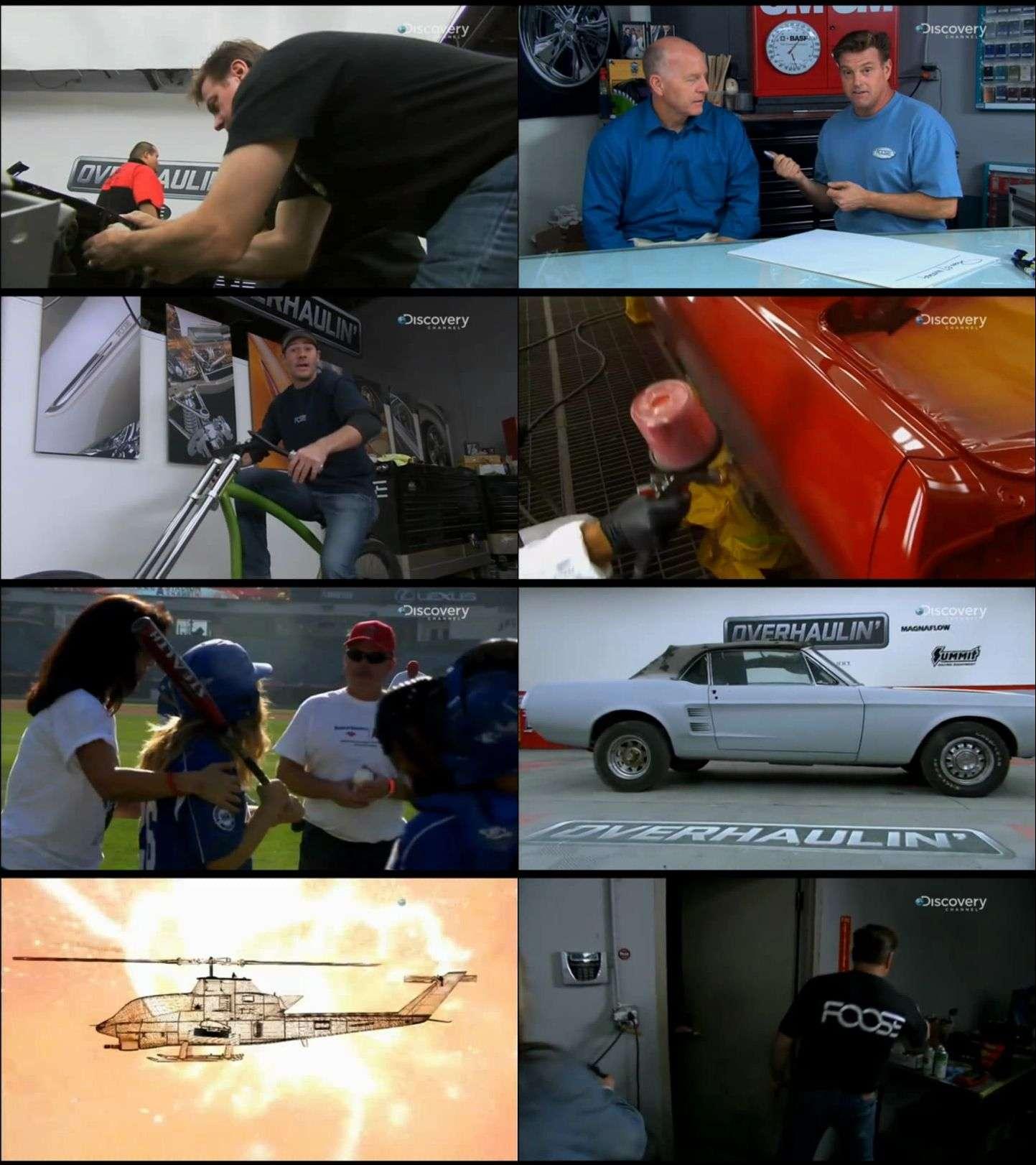 Discovery Channel - Overhaulin'  belgesel serisi türkçe dublaj indir