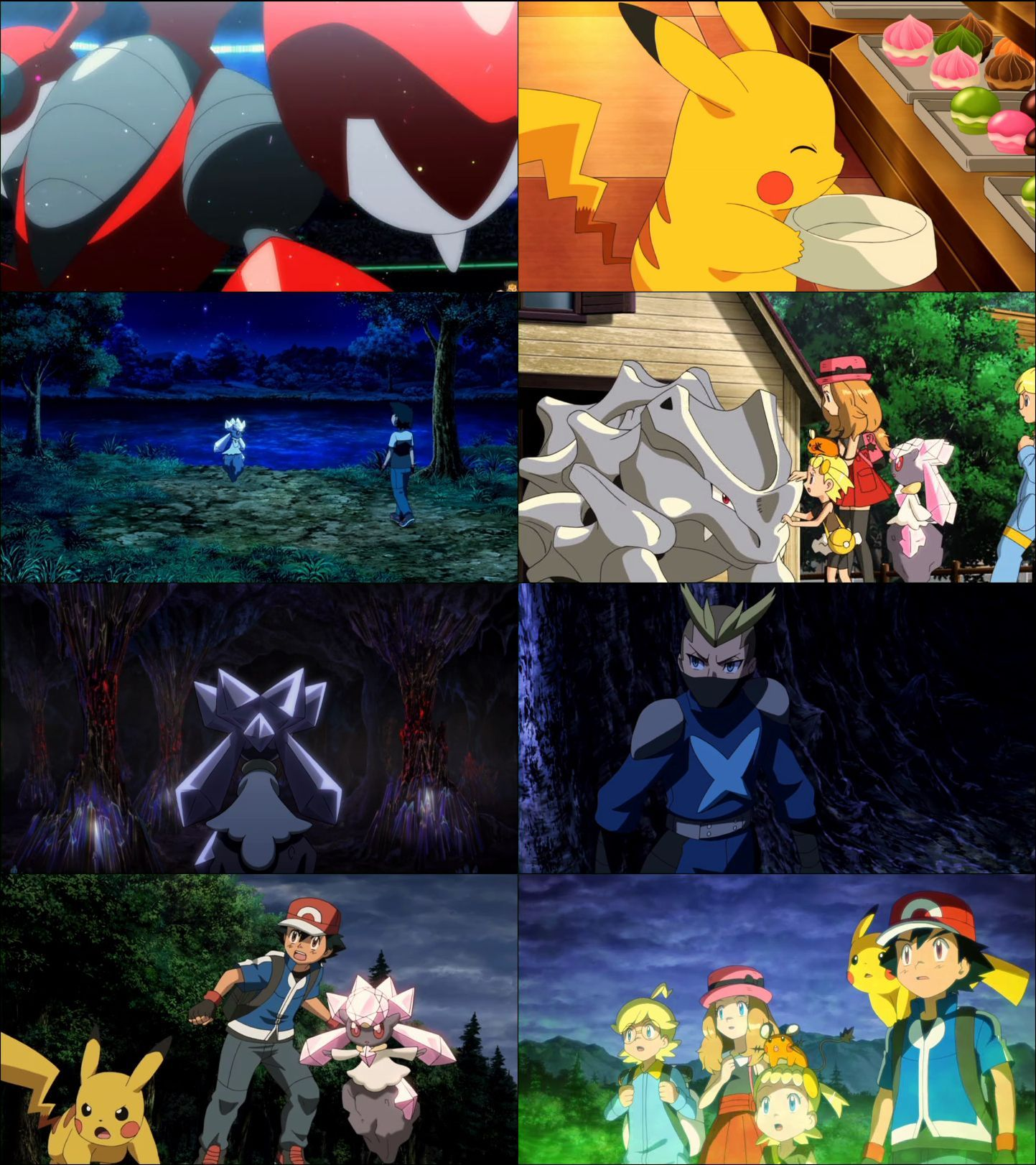 Pokémon the Movie: Diancie and the Cocoon of Destruction (2014) hd türkçe dublaj film indir