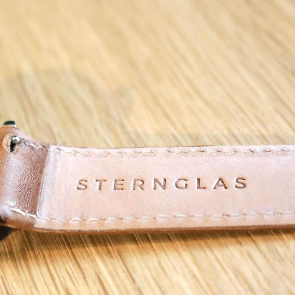 Innenseite des Armbands der Sternglas Automatik