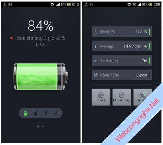 Chia sẻ cách tiết kiệm pin trên hệ điều hành Android