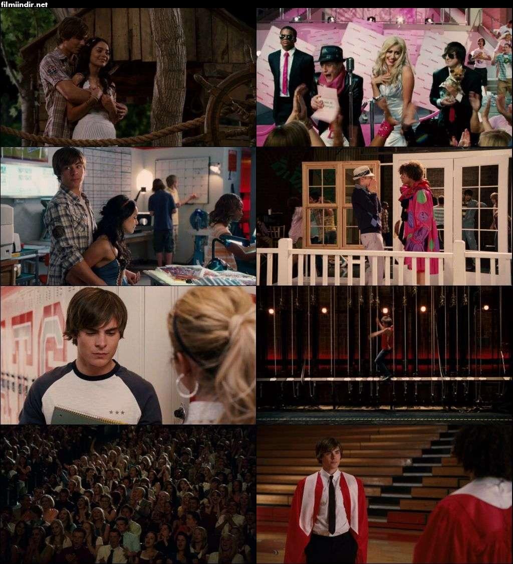 Yıldızlar Takımı 3: Mezuniyet Yılı - High School Musical 3: Senior Year (2008) hd türkçe dublaj film indir