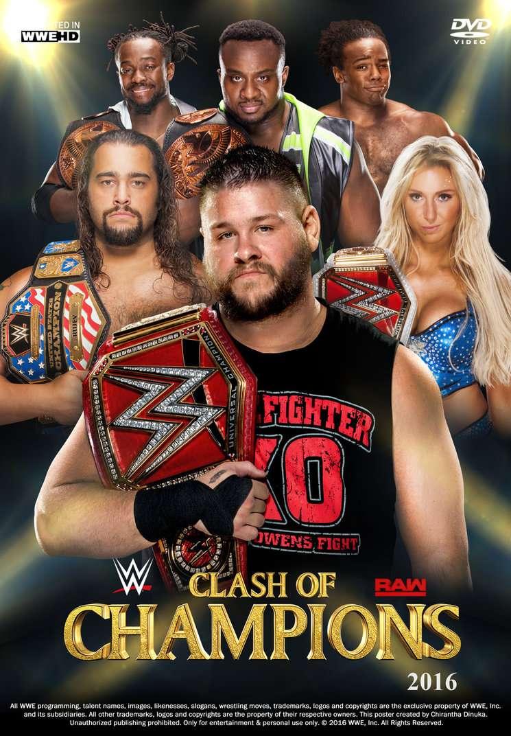 العرض المنتظر Clash Champions 2016