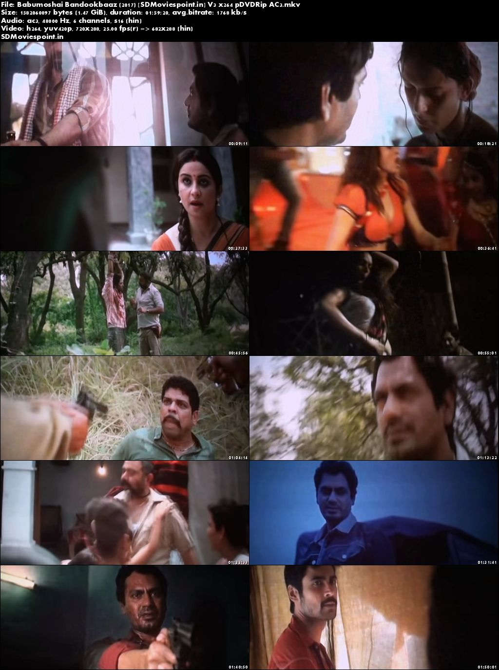 Screen Shots Babumoshai Bandookbaaz (2017) Full Hindi Movie Download Free HD pre