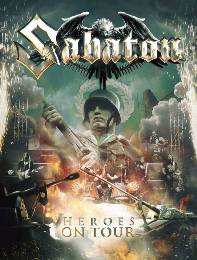 Sabaton - Live Open Air 2015 (Heroes on Tour, Disc 2) | BDRip 720p
