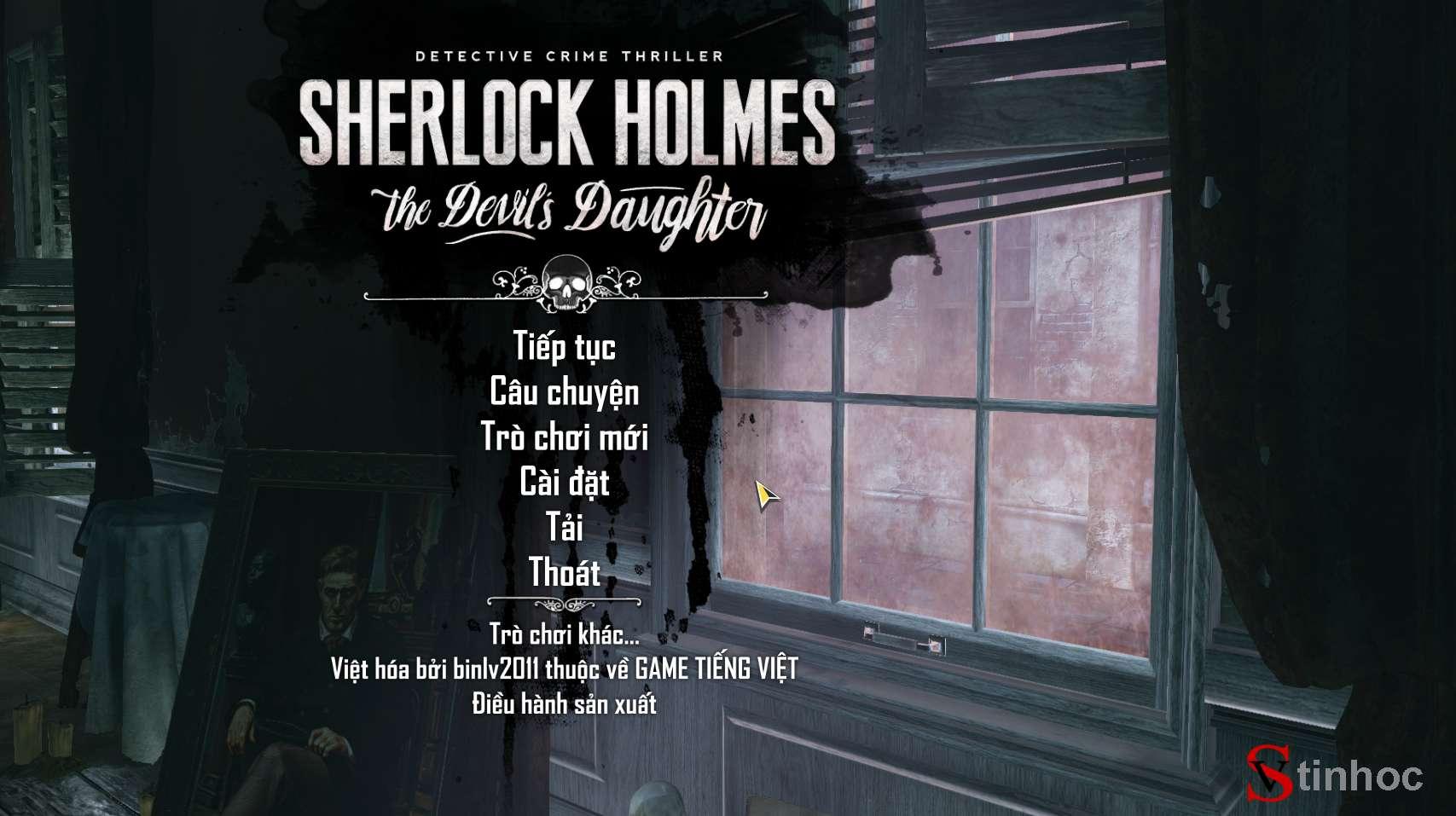 [PC] Sherlock Holmes: The Devil's Daughter Việt Hóa