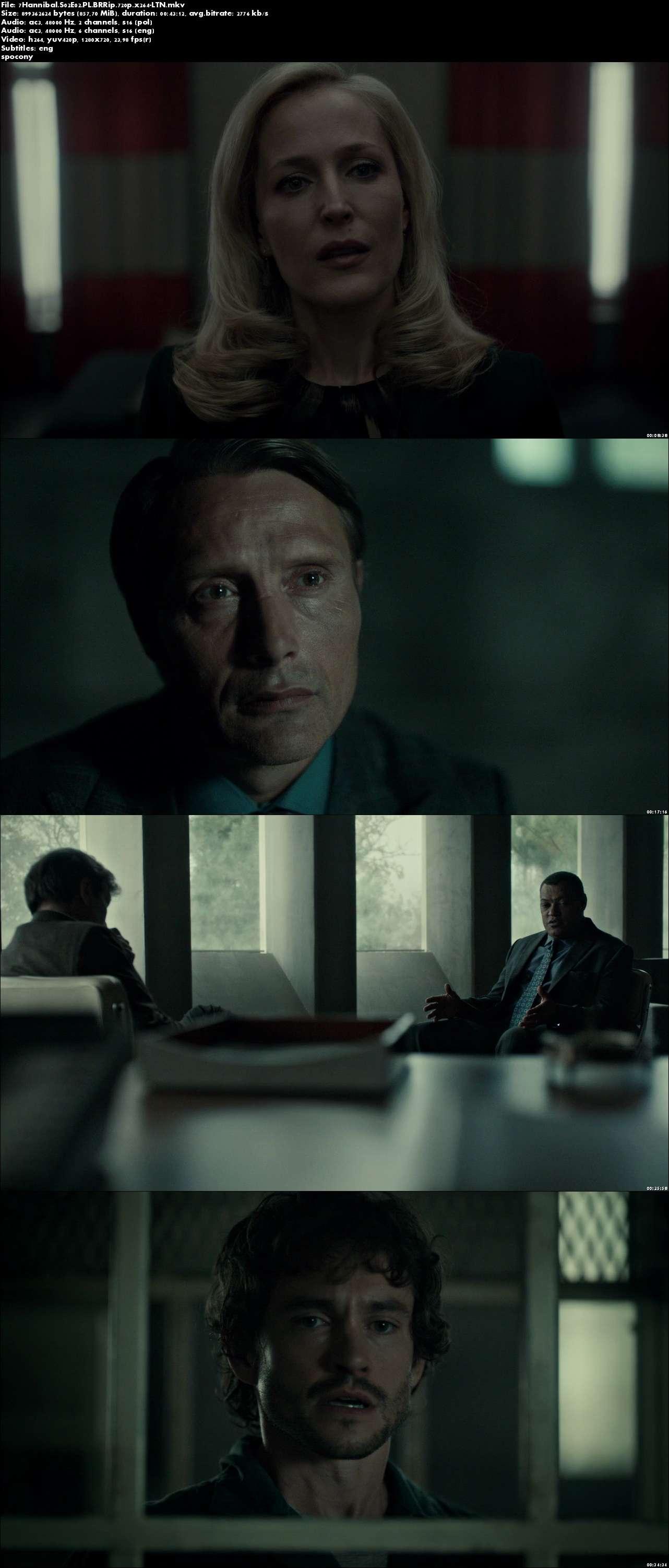 Hannibal (2014) {Sezon 2} (Pełen sezon) PL.BRRip.720p.x264-LTN [Lektor PL]