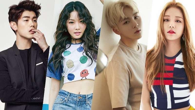 "Eric Nam, Chungha, SEVENTEEN's Seungkwan, And LABOUM's Solbin To Join Next ""Master Key"" Lineup"