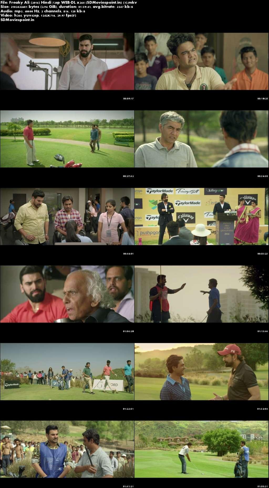 Screen Shots Freaky Ali 2016 Full Hindi Movie Download HD 1080p Blu-ray