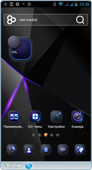 GO Launcher Z. Theme & Wallpaper Prime VIP 2.04 [Android]