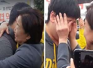 성소수자 대학생이 심상정 후보를 만나자마자 눈물을 펑펑 흘린 이유