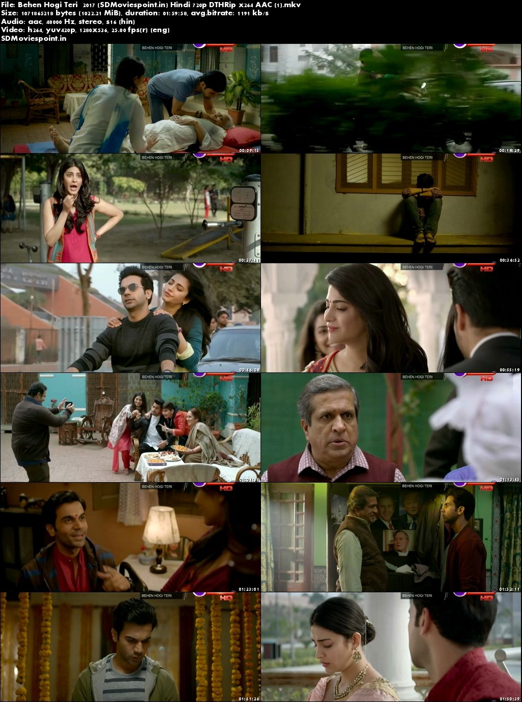 Screen Shots Behen Hogi Teri 2017 Full HD Movie Download Free 720p
