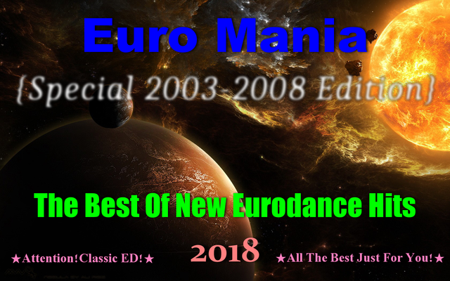 Euro Mania {Special 2003-2008 Edition} (2018) front
