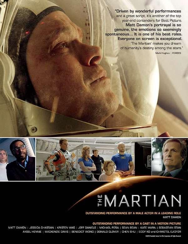 Марсианин | BDRip 2160p | 4K | Лицензия