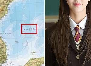 '일본해'라고 표기한 영국 웹사이트 끈질기게 설득해서 '동해'로 바로잡은 부산 여고생
