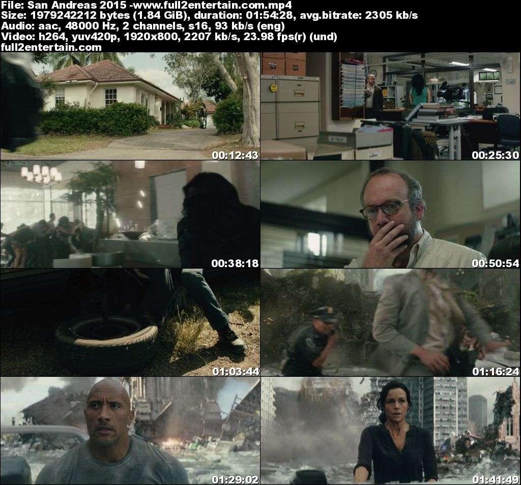 San Andreas 2015 Full Movie Free Download HD