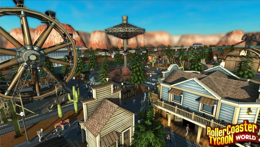 RollerCoaster Tycoon World� [Update 4]   PC