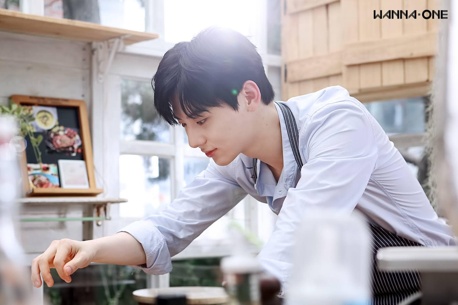 Watch: Wanna One's Hwang Min Hyun Is Ready To Cook For You In Individual Teaser