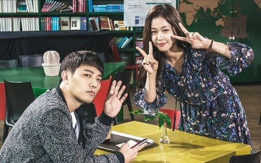 """""""Untouchable"""" Releases Cheerful Behind-The-Scenes Photos Of Jin Goo And Kyung Soo Jin"""
