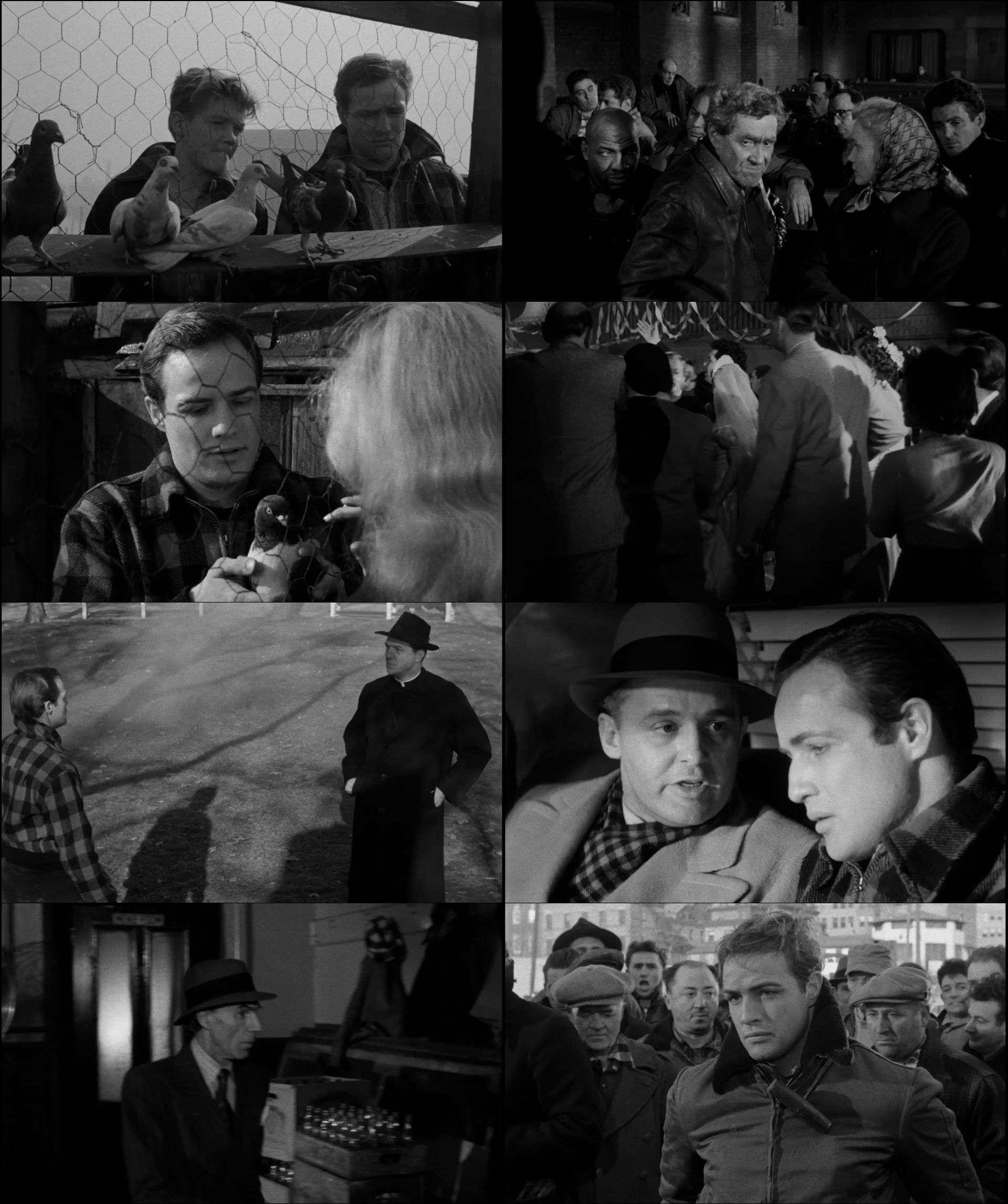 Rıhtımlar Üzerinde - On the Waterfront (1954) türkçe dublaj film indir