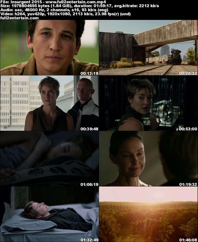 Insurgent (2015) Full Movie Free Download HD 1080p (1.8Gb)