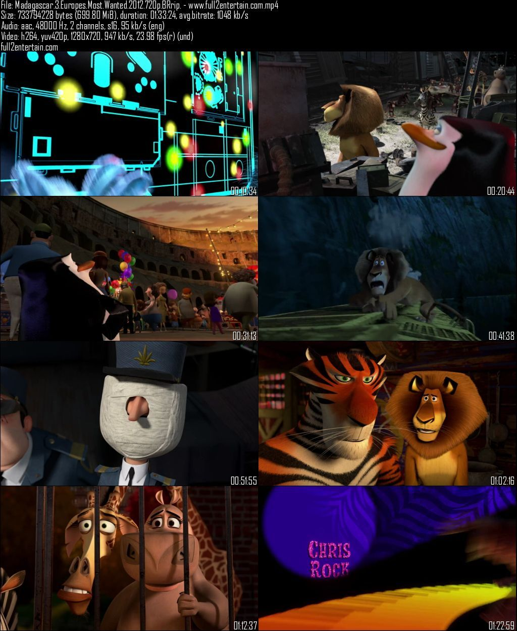 Madagascar 3: Europe's Most Wanted 2012 Full Movie Free Download HD