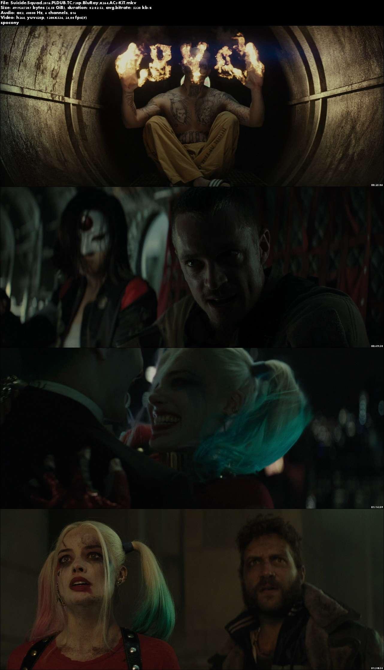 Legion samobójców / Suicide Squad (2016) PLDUB.TC.720p.BluRay.x264.AC3-KiT [Dubbing PL]