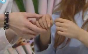 충격적인 오마이걸 유아의 손크기 유아의 손 크기