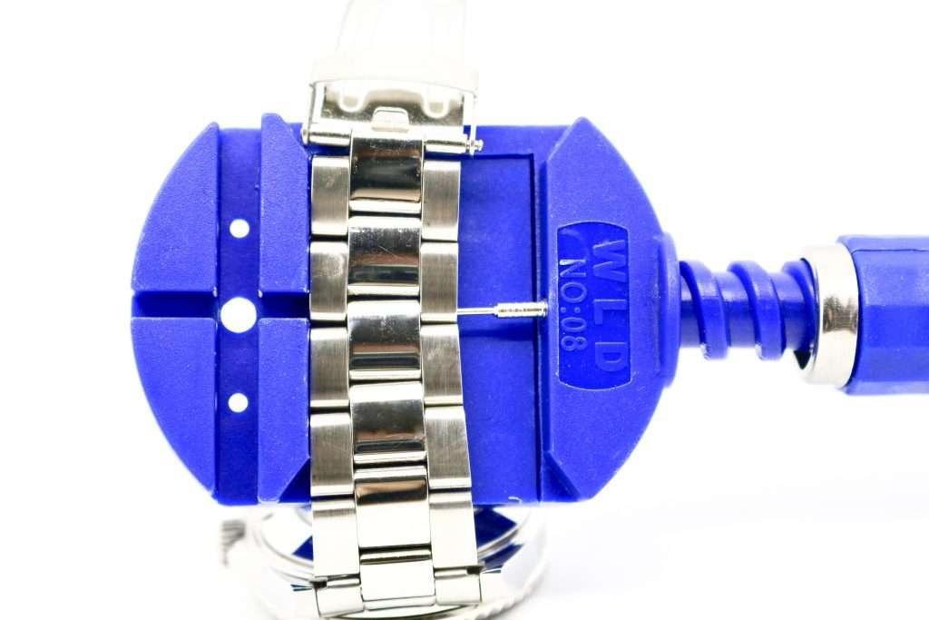 Geepro Schraubstock: Armband kürzen