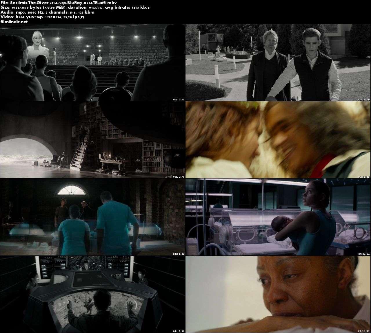 Seçilmiş - The Giver (2014) türkçe dublaj film indir