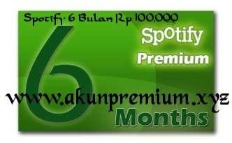 Spotify Premium 6 Bulan Only Rp 100.000