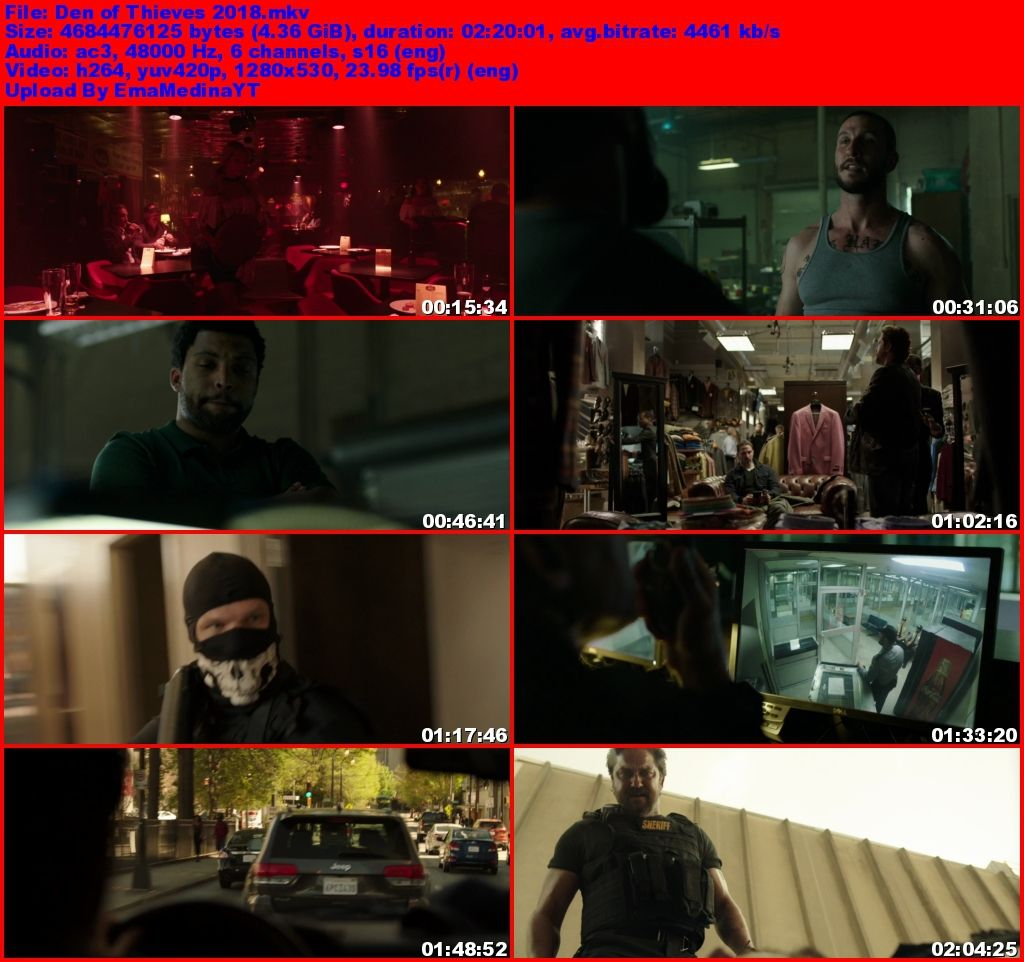 Den of Thieves [2018] [720p] [Ingles] [WEB-DL] [VS]