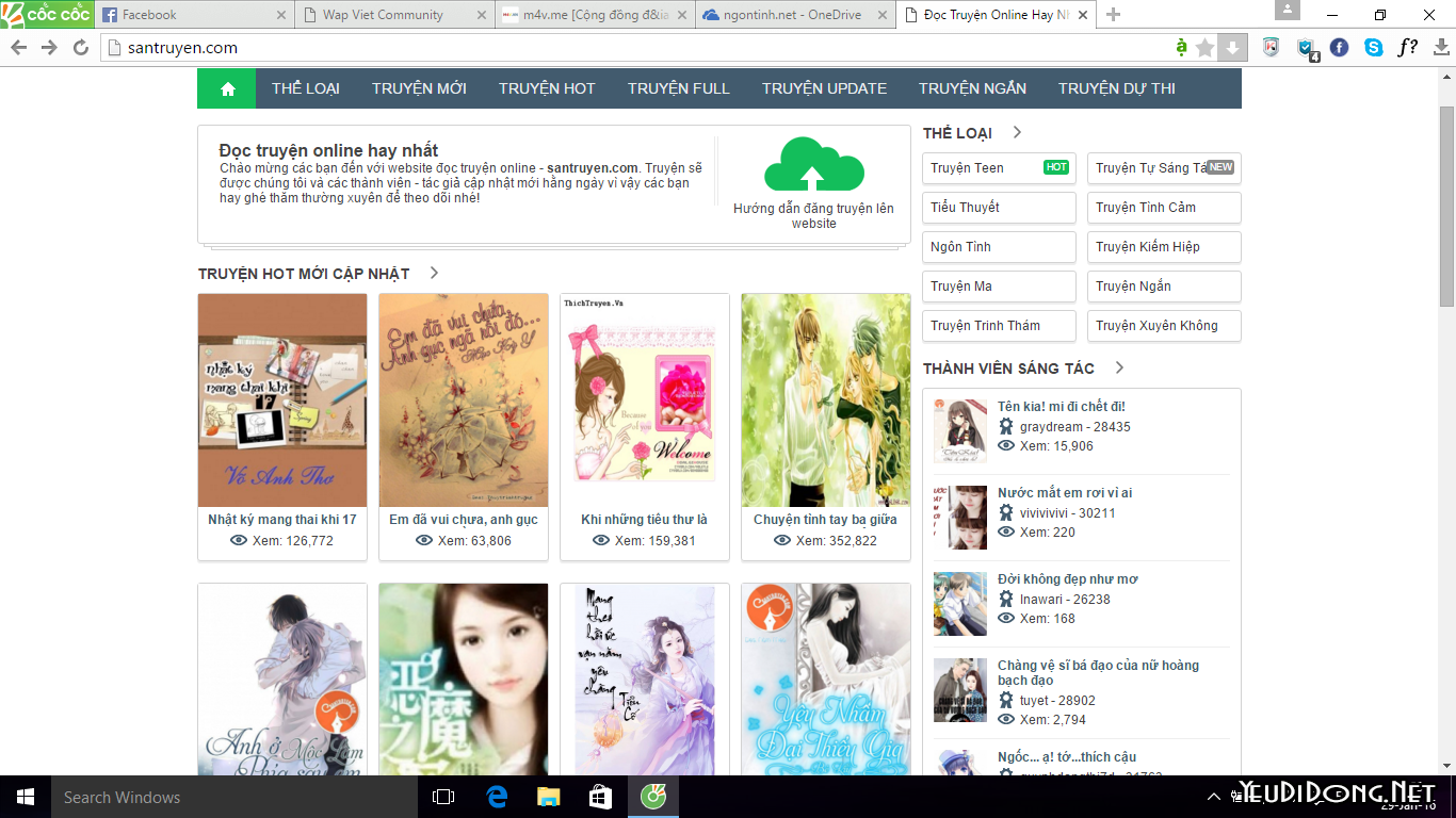 Share Theme Wordpress Santruyen + Tool Leech Chuẩn Seo