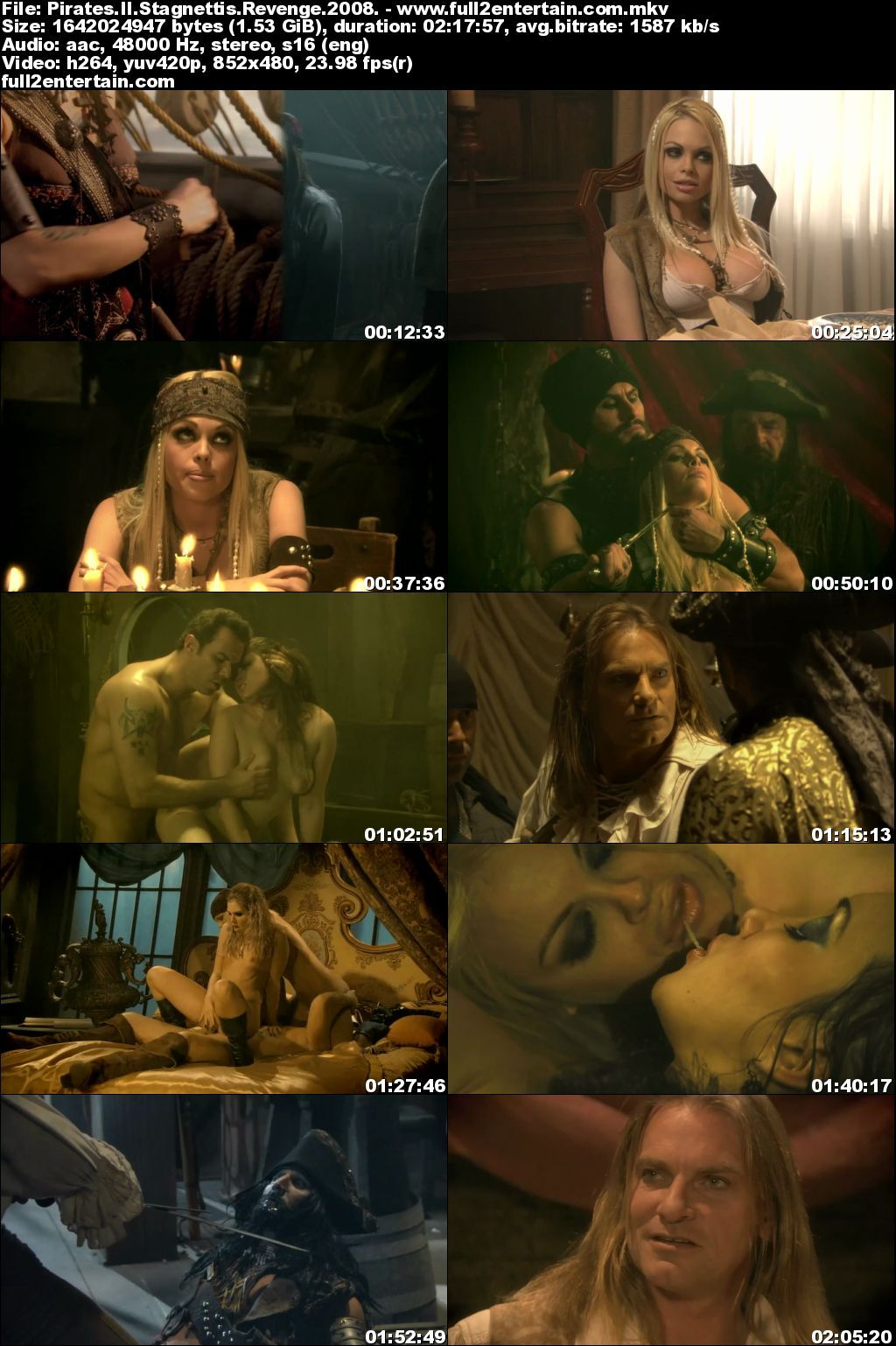 Pirates II: Stagnetti's Revenge Full Movie Free Download Hd - 2008 (1080p)