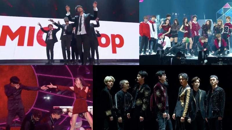 Watch: Performances From The 2017 Mnet Asian Music Awards (MAMA) In Hong Kong