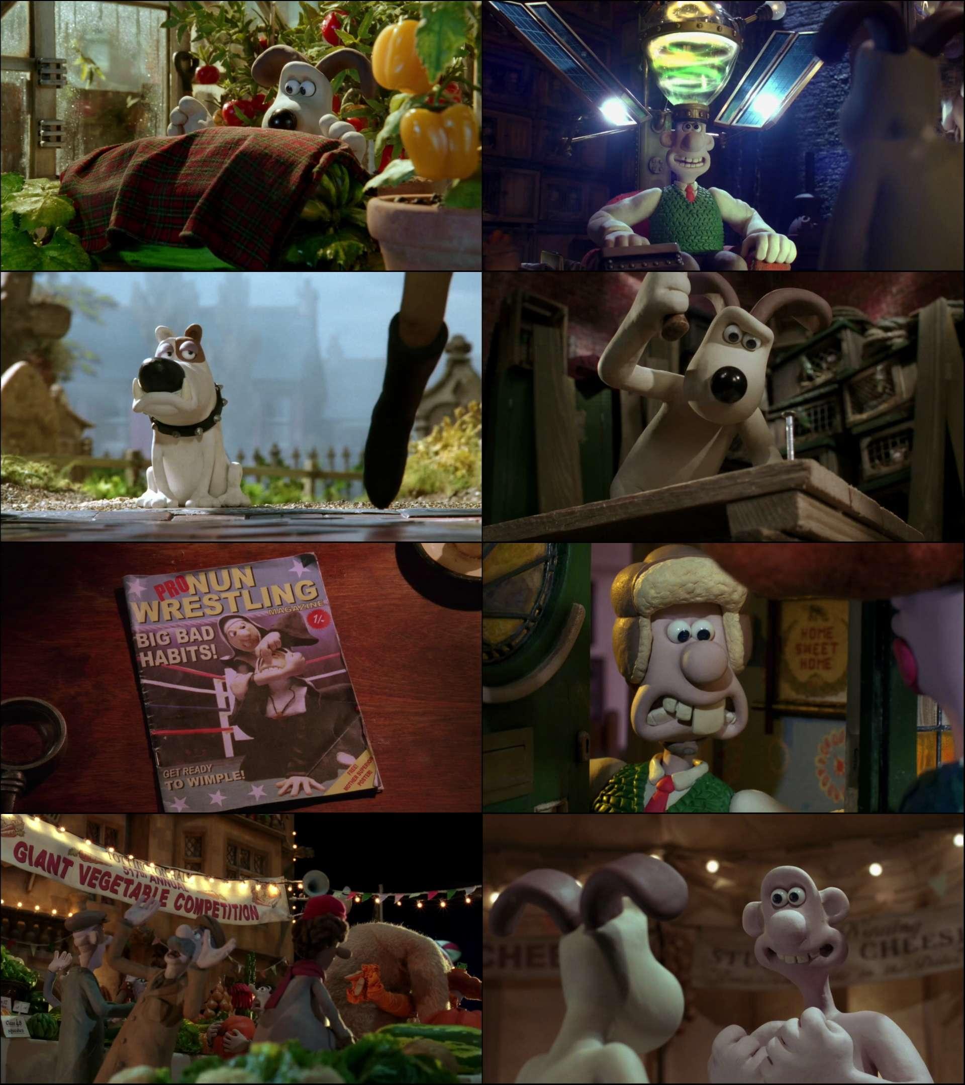 Wallace Ve Gromit Yaramaz Tavşana Karşı (2005) türkçe dublaj film indir